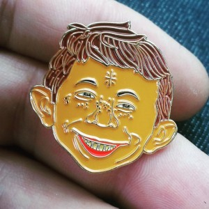 Alfred E Neuman w/Face Tattoos & Glitter Gold by ConsumerCult