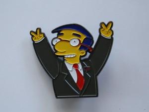 The Richard Milhouse Nixon Lapel Pin by quasivisualarts on Etsy