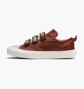 Vans Vault TH Court Lo Strap LX   Brown   Sneakers   VA2Y35KCV   Caliroots