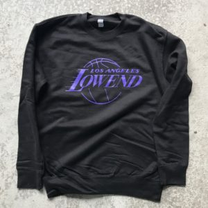 LOW END THEORY – sweater – Showtime Crewneck / Low End Theory