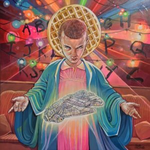 """Eleven"" 18×18″ Print by Dave MacDowell – Living Room Floor Gallery"