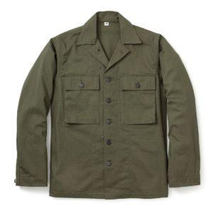 The Real McCoy's HBT Fatigue Jacket MJ17012