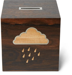 Linley – Rainy Day Wooden Money Box