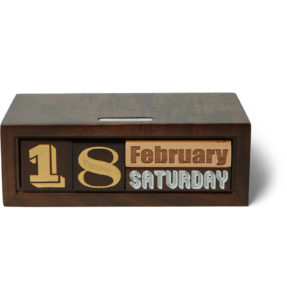 Linley – The Constant Wooden Calendar