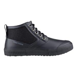 Gill (Men) Black Waterproof Rubber Boot