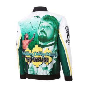 WWE Retro Ted Dibiase Million Dollar Man Fanimation Jacket