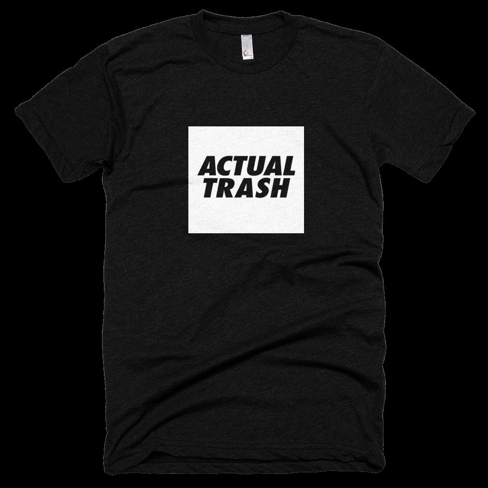 Actual Trash Black Shirt / Literal Garbage