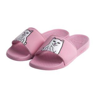 Lord Nermal Slides Pink Flip Flops
