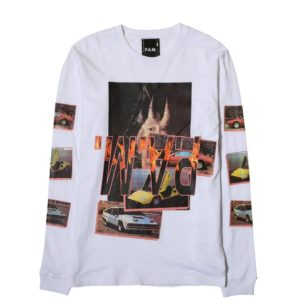 Perks and Mini WITCH CAR L/S T-SHIRT White – Bodega