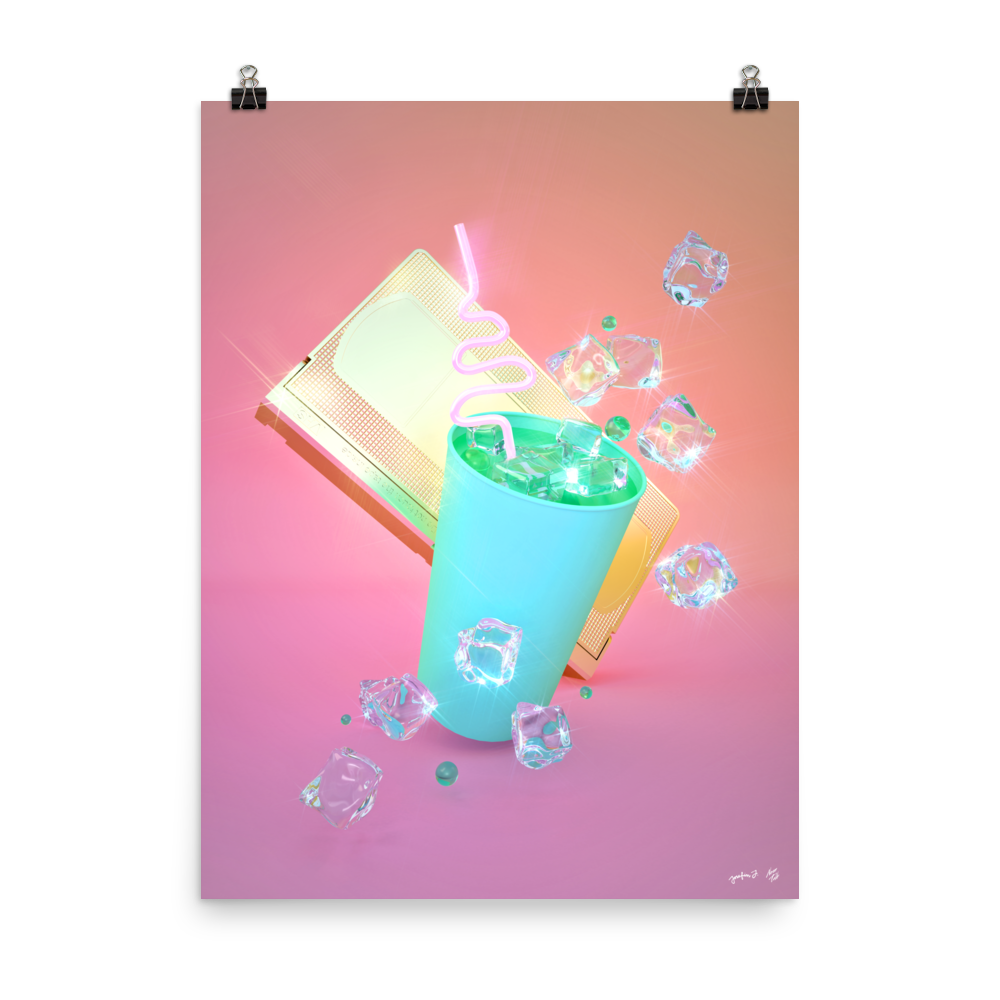 """""""Soft Drink with VHS"""" by Pastelae – NeonTalk"""