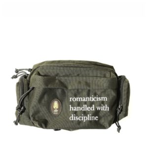 romanticism handled with discipline fanny pack