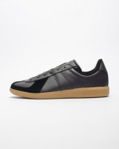 Black Leather Adidas Bw Army- Gun Sole
