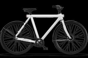 The classic straight frame bike  – VanMoof