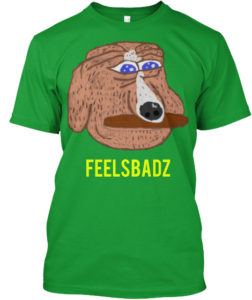 Feels Bad Man Dog Tshirt