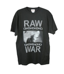 cherry / RAW WAR Tshirt
