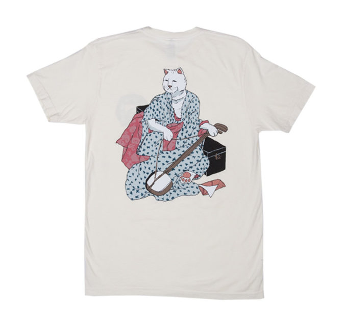 japanese warrior cat shirt