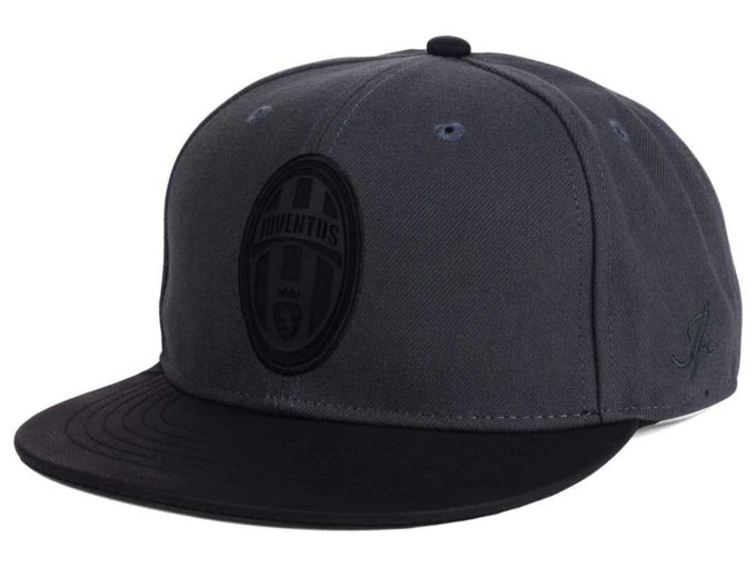 juventus all black hat