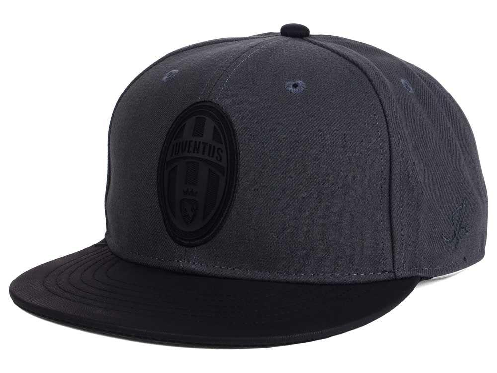 juventus all black hat